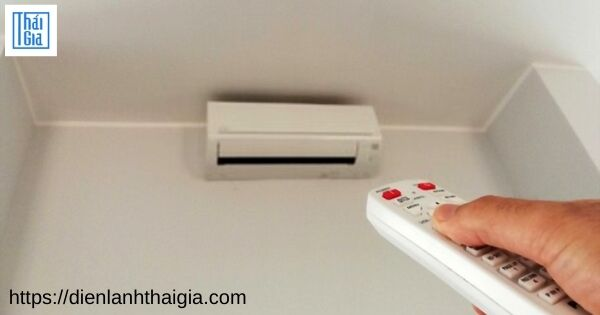 máy lạnh không nhận remote