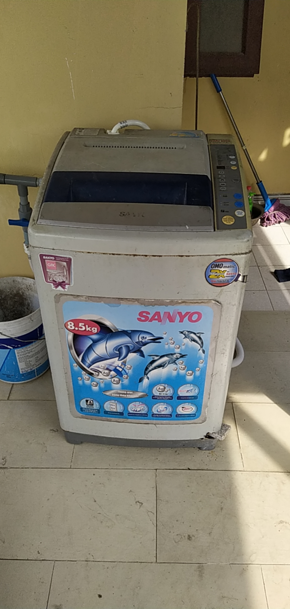 thợ sửa máy giặt Sanyo