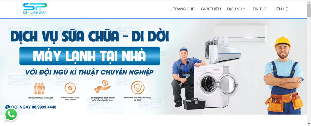 sửa máy lạnh quận tân phú