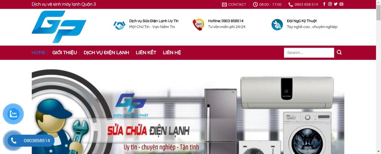 vệ sinh máy lạnh quận 3