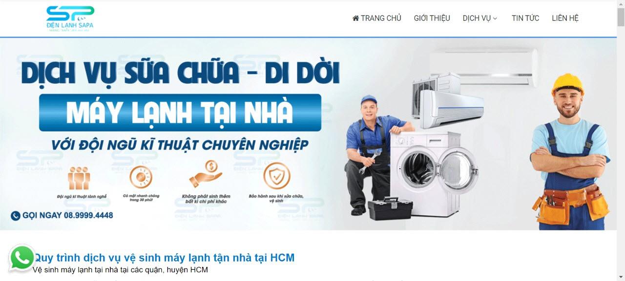 vệ sinh máy lạnh tại hóc môn