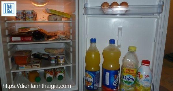cách xả tuyết tủ lạnh mini
